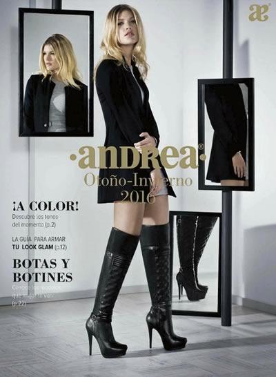 40caabbf Catálogo Andrea Promotor Calzado y Ropa Otoño-Invierno 2016
