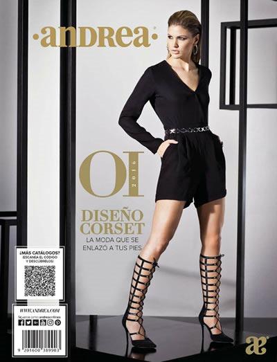 23f94362 Catálogo de Sandalias Andrea Otoño Invierno 2016 - México y Estados ...