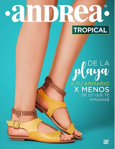 catalogo andrea sandalias tropical 2018
