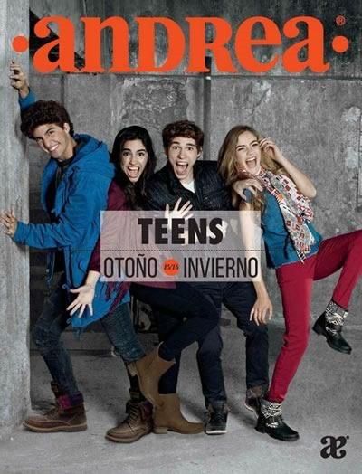 catalogo andrea teens otono invierno 2015