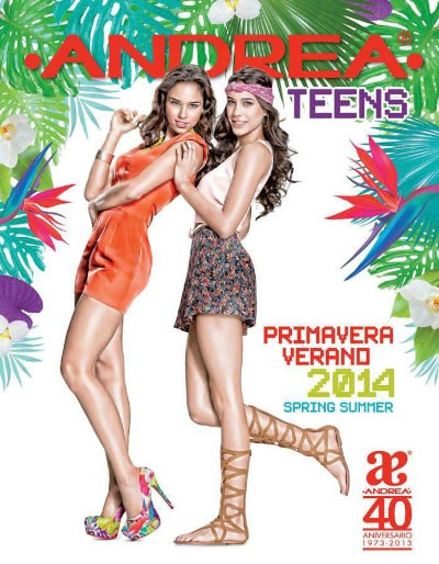 catalogo andrea teens primavera verano 2014
