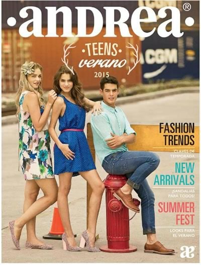 catalogo andrea teens verano 2015 mexico usa