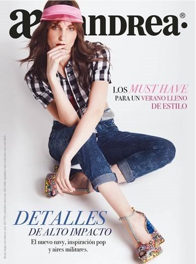 catalogo andrea tendencias moda verano 2017