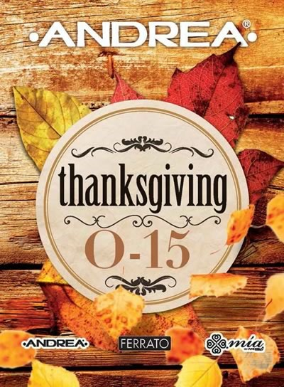 catalogo andrea usa thanksgiving 2015