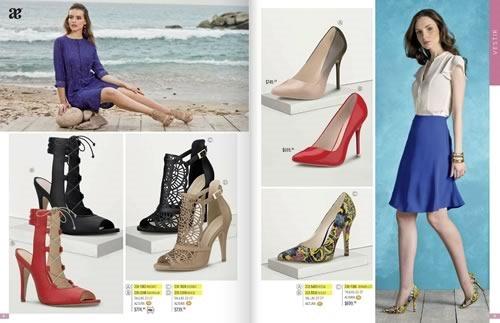 Catálogo Andrea Verano 2016  Calzado Dama CERRADO - México y USA c7382c0926340