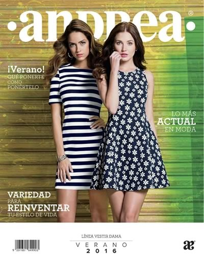 catalogo andrea verano 2016 linea vestir dama