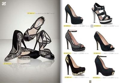 catalogo andrea zapatos novias fiestas 2014 - 01