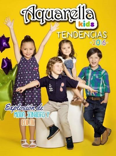 Catálogo Aquarella Kids: Tendencias 2016 en Calzado y Juguetes - Colombia