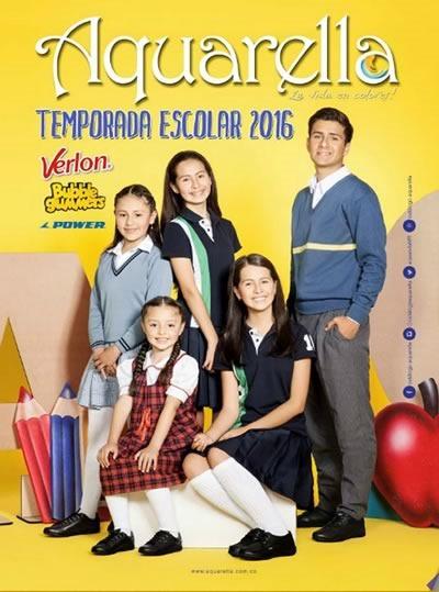 catalogo aquarella temporada escolar 2016