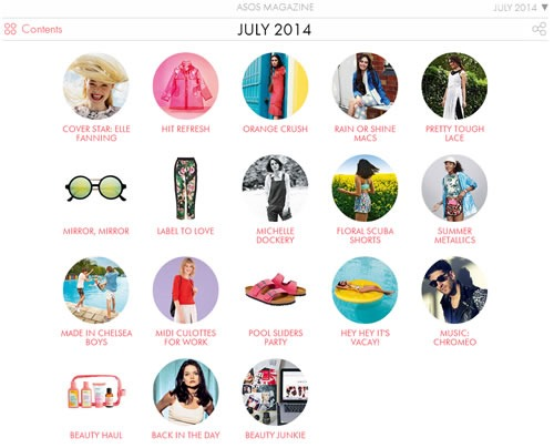 catalogo asos julio 2014 contenido