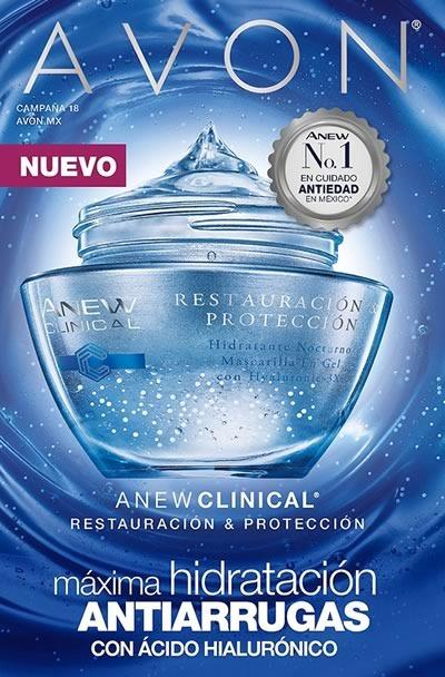 catalogo avon belleza campana 18 de 2017 mexico