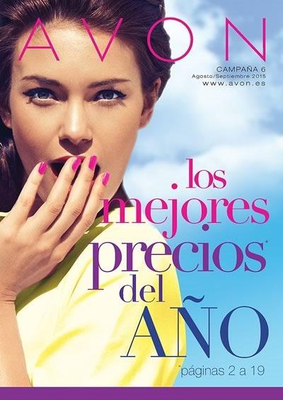 catalogo avon espana campana 6 agosto septiembre 2015