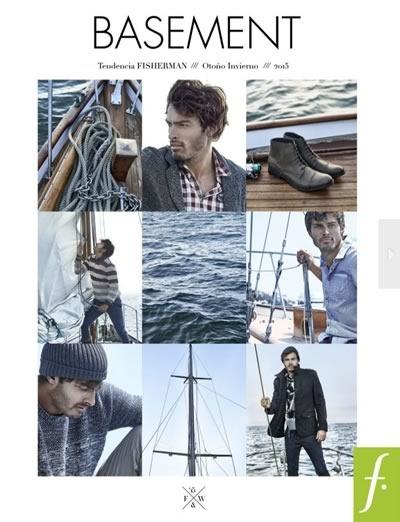 catalogo basement otono invierno 2015 tendencia fisherman