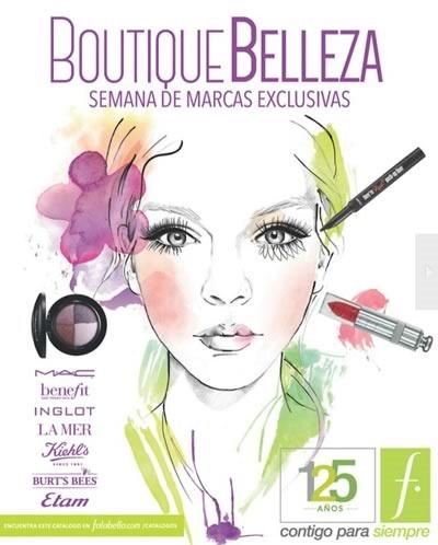 catalogo belleza falabella chile spring beauty week 2014