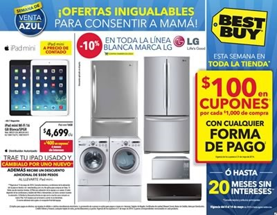 catalogo best buy 14 mayo 2014 mexico