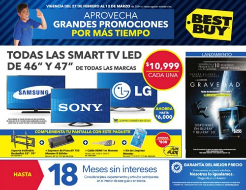 catalogo best buy marzo 2014 mexico