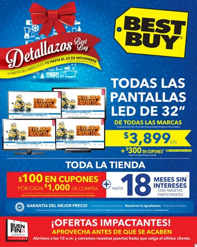 catalogo best buy ofertas buen fin 2013 mexico