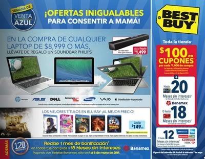 catalogo best buy semana de venta azul mayo 2014 mexico