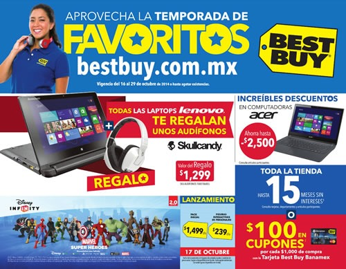 catalogo best buy temporada favoritos octubre 2014