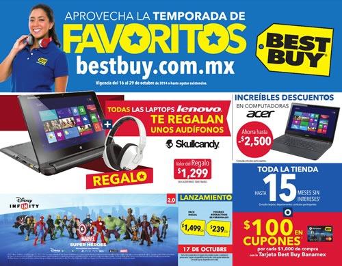catalogo best buy temporada favoritos octubre 2014