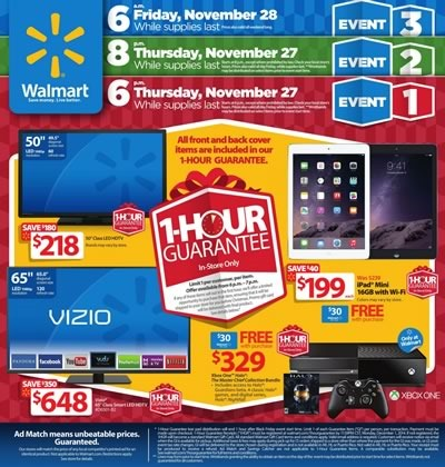 catalogo black friday 2014 ofertas walmart usa