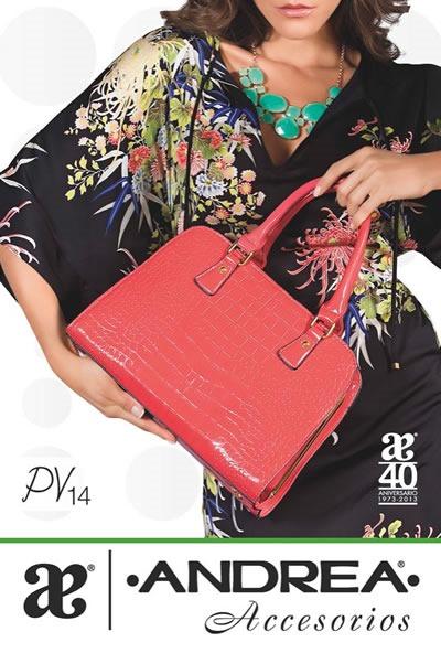 catalogo bolsos accesorios andrea 2014 primavera verano