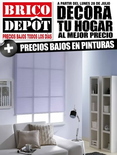 catalogo brico depot decora tu hogar agosto 2014
