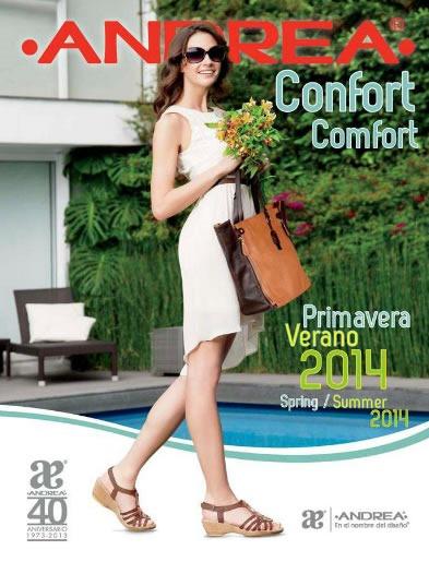 catalogo calzado andrea confort primavera verano 2014