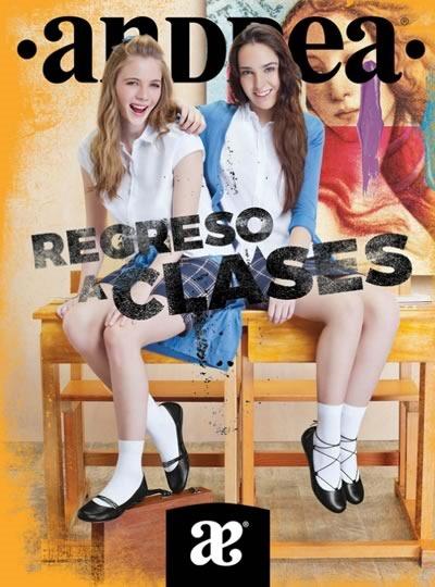 catalogo calzado escolar andrea agosto 2016