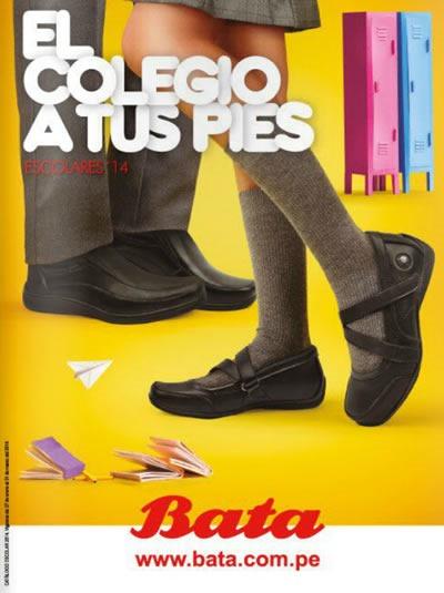 catalogo calzado escolar bata 2014 peru