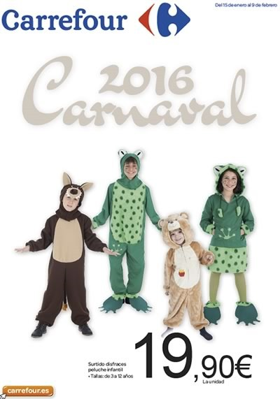 Carrefour cat logo de carnaval 2016 en espa a for Piscinas carrefour catalogo 2016