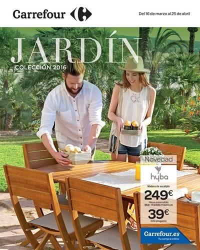 catalogo carrefour jardin coleccion 2016