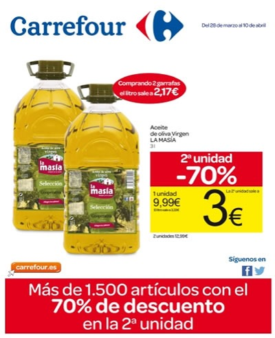 catalogo carrefour marzo abril 2014