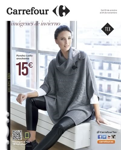 catalogo carrefour moda invierno 2015