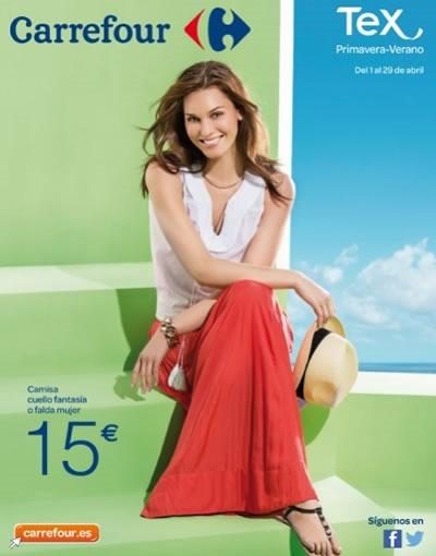 catalogo carrefour moda primavera verano 2014