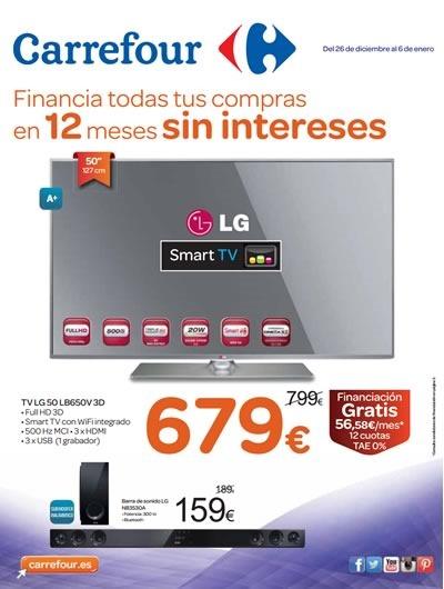 catalogo carrefour ofertas electro hasta 6 enero 2015