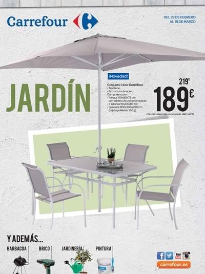 catalogo carrefour ofertas jardin marzo 2015