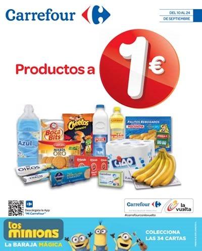 catalogo carrefour productos a 1 euro septiembre 2015