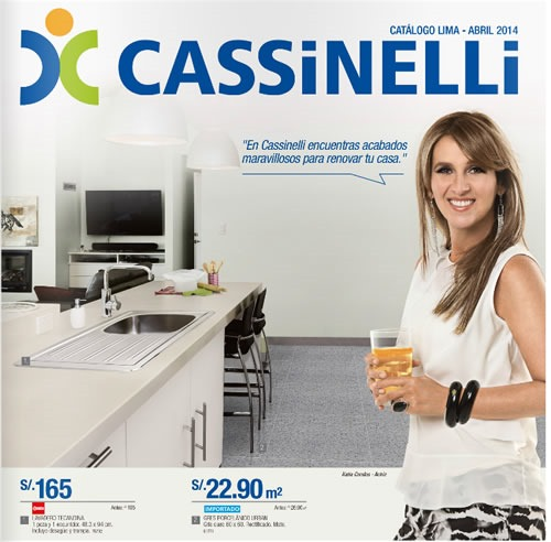 catalogo cassinelli abril 2014