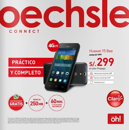catalogo celulares oechsle abril 2016 peru