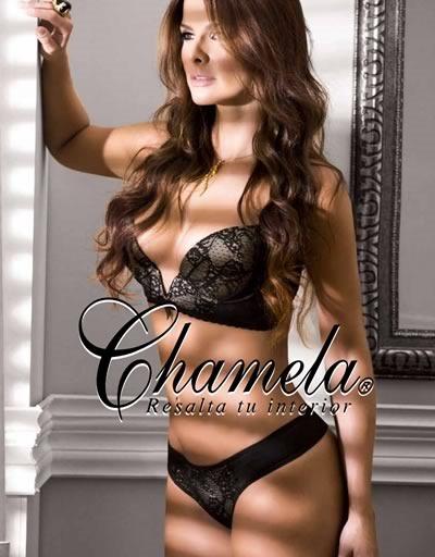 catalogo chamela lenceria 2014
