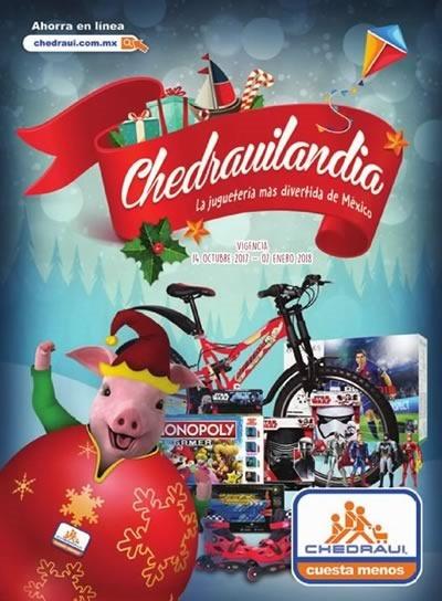 catalogo chedrauilandia juguetes navidad 2017