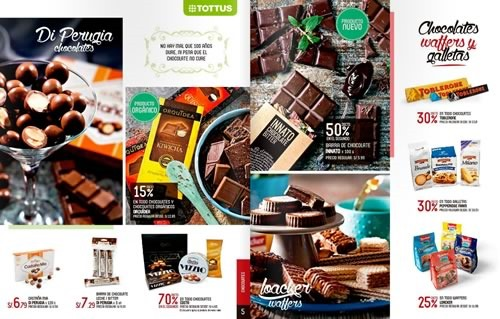 catalogo chocolates tottus agosto 2015 peru - 01