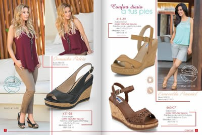 catalogo cklass 8days 2014 calzado confort zapatos