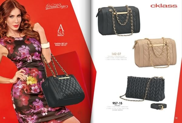 catalogo cklass bolsos handbags otono invierno 2015 usa mexico - 02