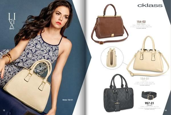 catalogo cklass bolsos handbags otono invierno 2015 usa mexico - 03