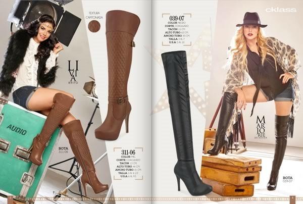 catalogo cklass botas otono invierno 2015 mexico usa - 02