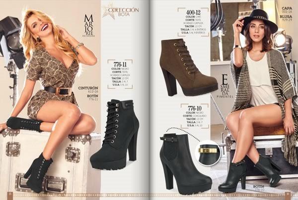 catalogo cklass botas otono invierno 2015 mexico usa - 03