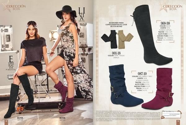 catalogo cklass botas otono invierno 2015 mexico usa - 04