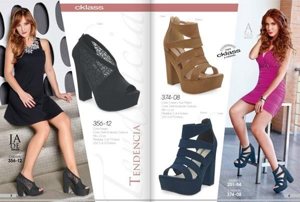 9c1e11d4 Catálogo Cklass Zapatos de Dama Otoño e Invierno 2015 - México y USA